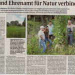 Amt und Ehrenamt für Natur verbinden