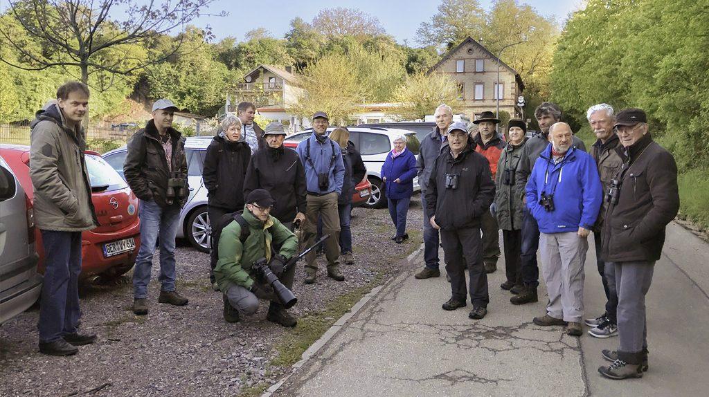 Vogelstimmenwanderung in der Freckenfelder Gemarkung 2019