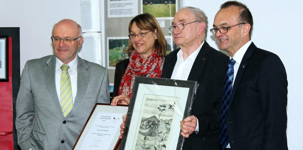 Verleihung des Gerhard Postei Naturschutzpreises an Gerd Kümmel